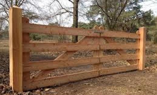 Een hek zelf maken.